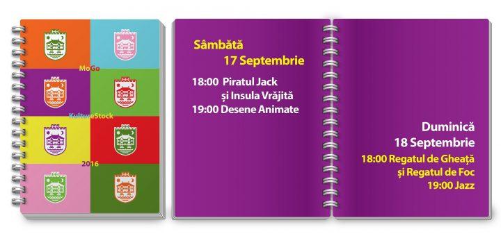 Agenda Kulturestock 17-18 septembrie